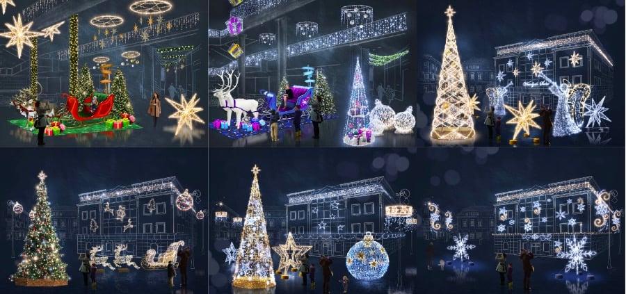 Oświetlenie świąteczne Okazjonalne Cena Od 5 20000 Zł