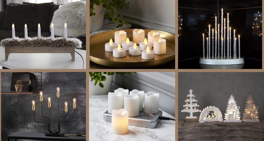 świeczniki I Lampiony Led