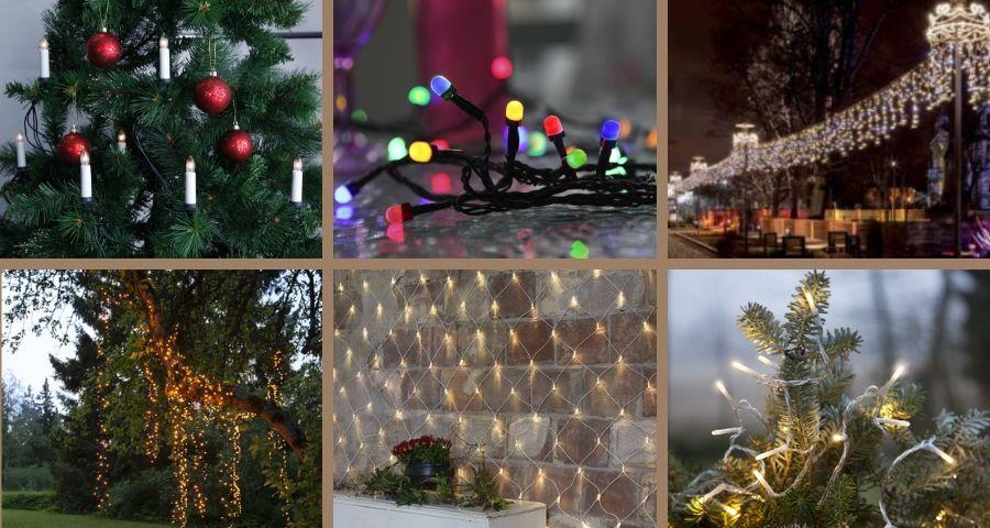 Oświetlenie świąteczne Led