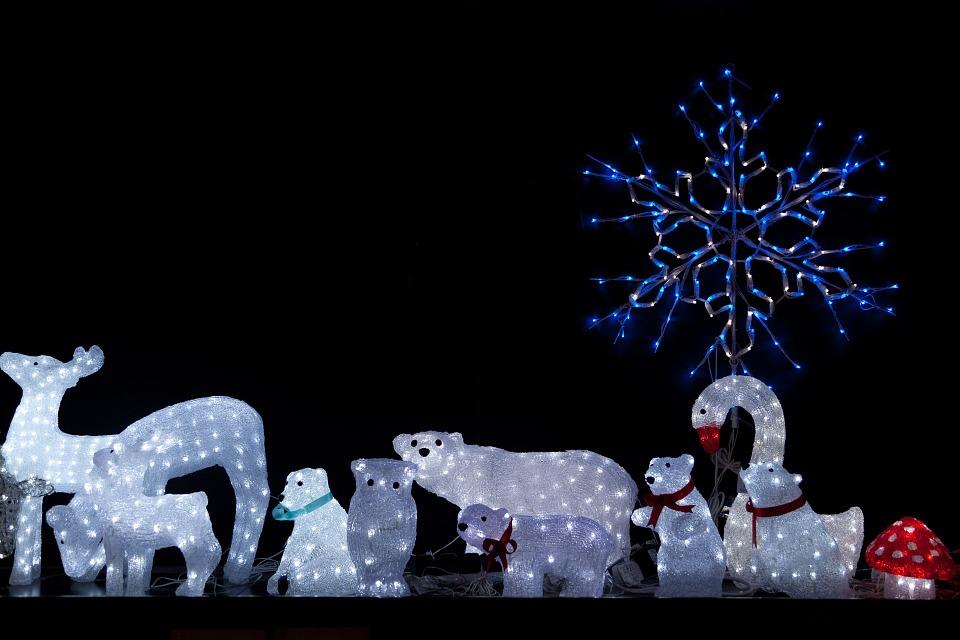 Bożonarodzeniowe Iluminacje świąteczne Amled