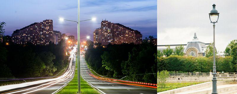 Oświetlenie Uliczne I Parkowe Led